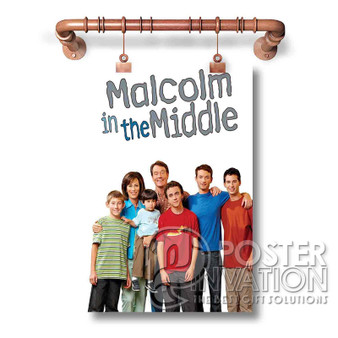 Malcolm in the Middle Custom Art Silk Poster Wall Decor 20 x 13 Inch 24 x 36 Inch