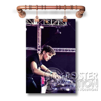 Martin Garrix Art Wall Custom Silk Poster Wall Decor 20 x 13 Inch 24 x 36 Inch