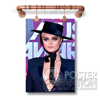 Bebe Rexha Martin Garrix Art Decoration Custom Silk Poster Wall Decor 20 x 13 Inch 24 x 36 Inch