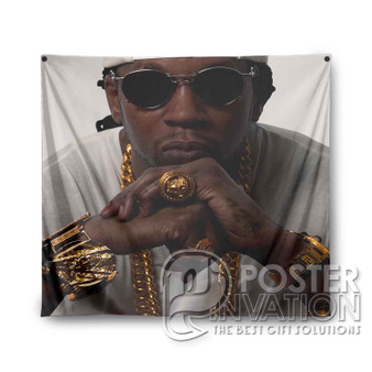 2 Chainz Custom Tapestry Wall Decor Art Hanging Home Decoration