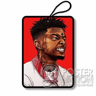 21 Savage Custom Air Fresheners Car and Home Rooms Fragrances
