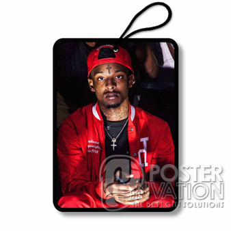 21 Savage Rapper Custom Air Fresheners Car and Home Rooms Fragrances