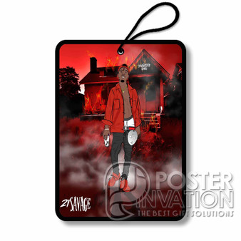 21 Savage Slaughter Gang Custom Air Fresheners Car and Home Rooms Fragrances