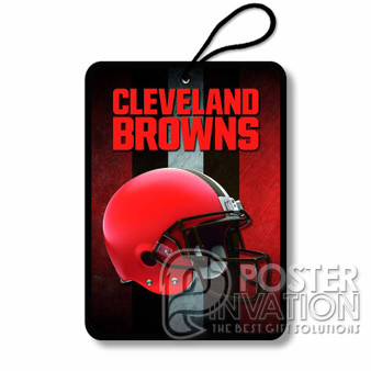 Cleveland Browns NFL Custom Air Fresheners Car and Home Rooms Fragrances
