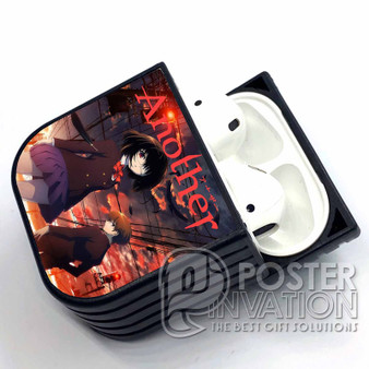 Another Anime Custom Airpods Case Skin Protective Cover Airpods 1 Airpods 2 Airpods Pro