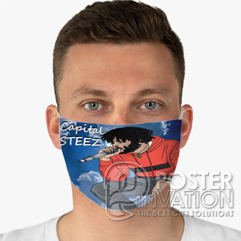 Capital STEEZ Custom Fabric Face Mask Fashionable Two Layer Polyester