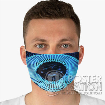 Childish Gambino Me and Your Mama Custom Fabric Face Mask Fashionable Two Layer Polyester