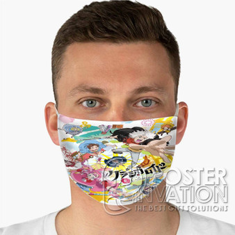 Classicaloid Custom Fabric Face Mask Fashionable Two Layer Polyester