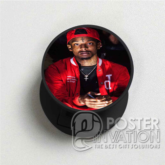 21 Savage Rapper Custom Folding Phone Holder Pop Up Stand Out Grip