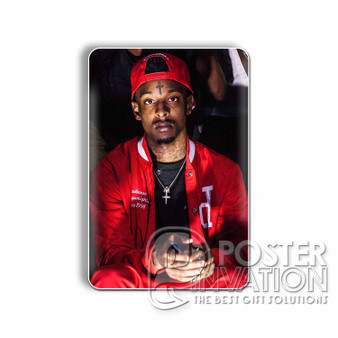 21 Savage Rapper Custom Magnet Refrigerator Home Decor 2 x 3 Inch Perfect Gift