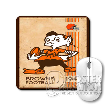 Cleveland Browns NFL 1946 Custom Gaming Mouse Pad Desk PC Laptop Game Keyboard Pad