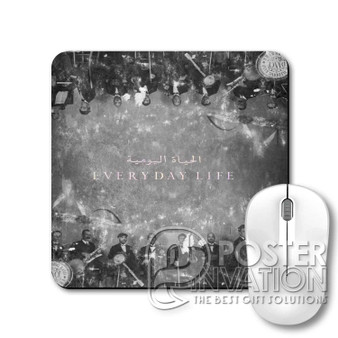 Coldplay Everyday Life Custom Gaming Mouse Pad Desk PC Laptop Game Keyboard Pad