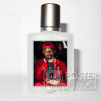 21 Savage Rapper Custom Perfume Bottle Cover Case Baccarat Unisex Fragrance Fresh Aromatic Perfect Gift