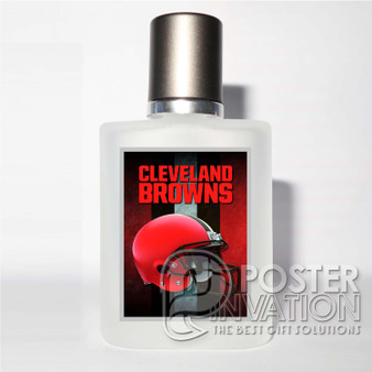 Cleveland Browns NFL Custom Perfume Bottle Cover Case Baccarat Unisex Fragrance Fresh Aromatic Perfect Gift