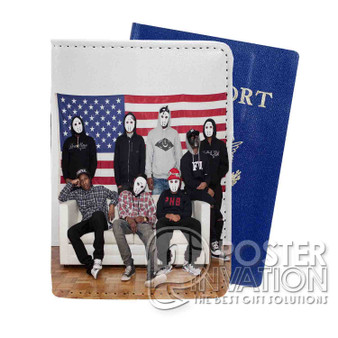 A ap Mob Custom Passport PU Leather Holder Case Wallet Cover Card Slot Perfect Gift