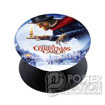 A Christmas Carol Custom Phone Holder Pop Up Stand Out Grip Standing Pods Perfect Gift