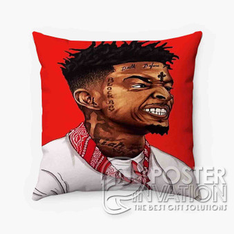21 Savage Custom Pillow Trow Chusion Case Cover Bed and Shofa Perfect Gift