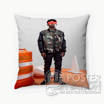 21 Savage Photo Custom Pillow Trow Chusion Case Cover Bed and Shofa Perfect Gift