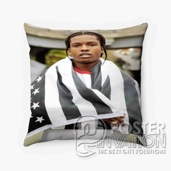 A ap Rocky Custom Pillow Trow Chusion Case Cover Bed and Shofa Perfect Gift