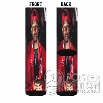 21 Savage Rapper Custom Socks Sublimation Sports Game Sporting Goods Perfect Gift