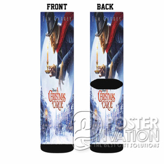 A Christmas Carol Custom Socks Sublimation Sports Game Sporting Goods Perfect Gift