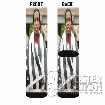 A ap Rocky Custom Socks Sublimation Sports Game Sporting Goods Perfect Gift