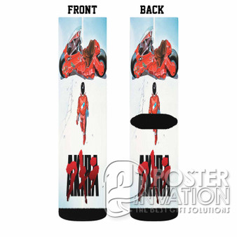 Akira Custom Socks Sublimation Sports Game Sporting Goods Perfect Gift