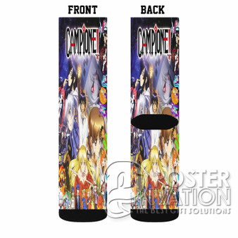 Campione Custom Socks Sublimation Sports Game Sporting Goods Perfect Gift