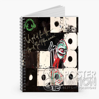 A Tribe Called Quest We The People Custom Spiral Notebook Ruled Line Front Cover Book Case Perfect Gift