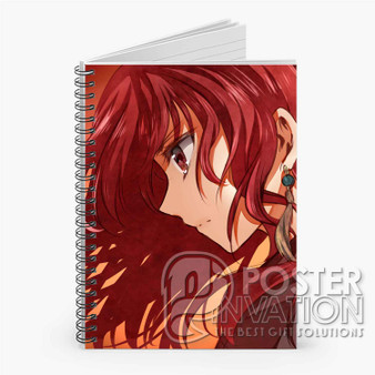 Akatsuki no Yona Anime Custom Spiral Notebook Ruled Line Front Cover Book Case Perfect Gift