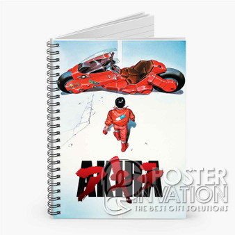 Akira Custom Spiral Notebook Ruled Line Front Cover Book Case Perfect Gift