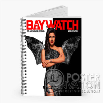 Alexandra Daddario Baywatch Custom Spiral Notebook Ruled Line Front Cover Book Case Perfect Gift