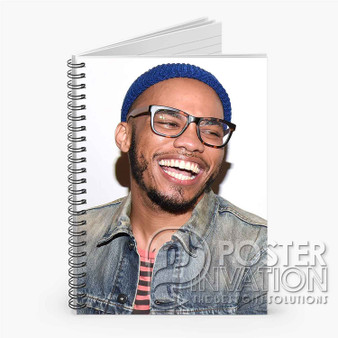 Anderson Paak Smile Custom Spiral Notebook Ruled Line Front Cover Book Case Perfect Gift