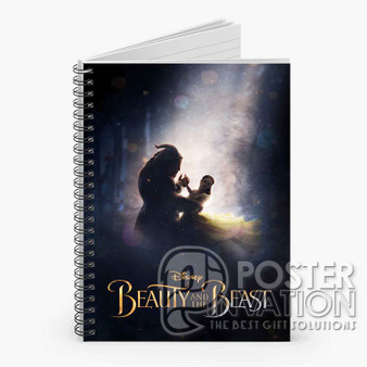 Beauty and The Beast 2017 Custom Spiral Notebook Ruled Line Front Cover Book Case Perfect Gift