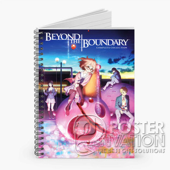 Beyond The Boundary Custom Spiral Notebook Ruled Line Front Cover Book Case Perfect Gift