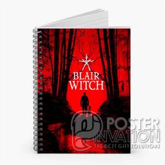 Blair Witch Custom Spiral Notebook Ruled Line Front Cover Book Case Perfect Gift