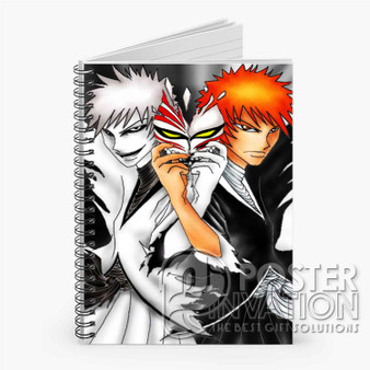 Bleach Anime Custom Spiral Notebook Ruled Line Front Cover Book Case Perfect Gift