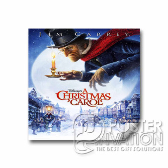 A Christmas Carol Custom Square Sticker 2x2 Inch 3x3 Inch 4x4 Inch 6x6 Inch Cars Motorcycles Home Wall Decor