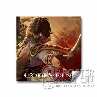 Code Vein Custom Square Sticker 2x2 Inch 3x3 Inch 4x4 Inch 6x6 Inch Cars Motorcycles Home Wall Decor