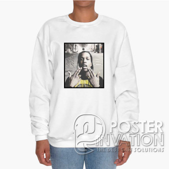 A ap Rocky 2 Custom Unisex Heavy Blend Crewneck Sweatshirt S M L XL XXL XXXL Summer Winter Spring Perfect Gift