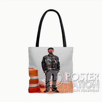 21 Savage Photo Custom Tote Bag AOP Polyester S M L Comfort Fashionable Totebags Unisex Stylish Bag Perfect Gift