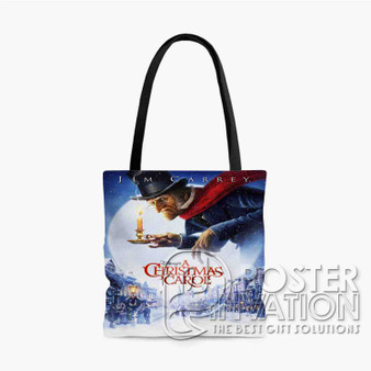 A Christmas Carol Custom Tote Bag AOP Polyester S M L Comfort Fashionable Totebags Unisex Stylish Bag Perfect Gift
