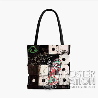 A Tribe Called Quest We The People Custom Tote Bag AOP Polyester S M L Comfort Fashionable Totebags Unisex Stylish Bag Perfect Gift