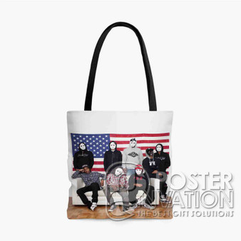 A ap Mob Custom Tote Bag AOP Polyester S M L Comfort Fashionable Totebags Unisex Stylish Bag Perfect Gift