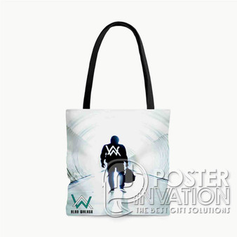 Alan Walker Custom Tote Bag AOP Polyester S M L Comfort Fashionable Totebags Unisex Stylish Bag Perfect Gift
