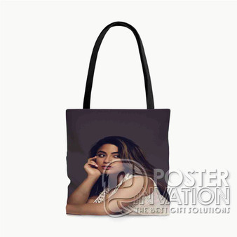 Ally Brooke Fifth Harmony Custom Tote Bag AOP Polyester S M L Comfort Fashionable Totebags Unisex Stylish Bag Perfect Gift