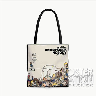And The Anonymous Nobody Custom Tote Bag AOP Polyester S M L Comfort Fashionable Totebags Unisex Stylish Bag Perfect Gift