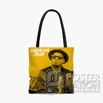 Anderson Paak Custom Tote Bag AOP Polyester S M L Comfort Fashionable Totebags Unisex Stylish Bag Perfect Gift