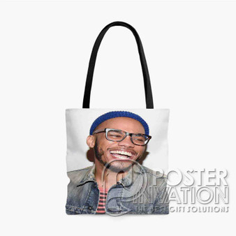 Anderson Paak Smile Custom Tote Bag AOP Polyester S M L Comfort Fashionable Totebags Unisex Stylish Bag Perfect Gift