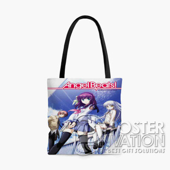 Angel Beats Custom Tote Bag AOP Polyester S M L Comfort Fashionable Totebags Unisex Stylish Bag Perfect Gift